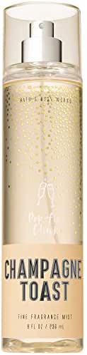 Bath and Body Works CHAMPAGNE TOAST Fine Fragrance Mist 8 Fluid Ounce (2018 Limited Edition)