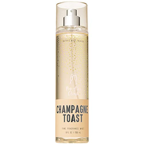 Bath and Body Works CHAMPAGNE TOAST Fine Fragrance Mist 8 Fluid Ounce (2018 Limited Edition) ()