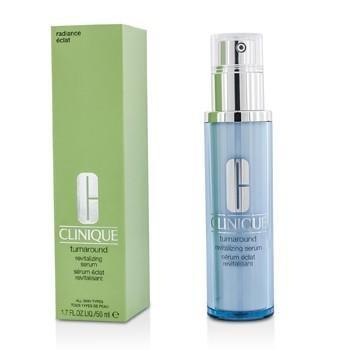 Clinique - Turnaround Revitalizing Serum -30ml/1oz Soothing Touch - Vegan Lip Balm Grapefruit + Vitamin C - 0.25 oz. (pack of 5)