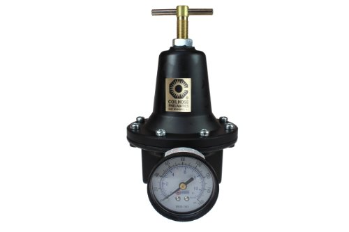 Coilhose Pneumatics 8806GH Heavy Duty Series Regulator, 3/4-Inch Pipe Size with Gauge and High Pressure Spring (0-200 PSI) by Coilhose Pneumatics