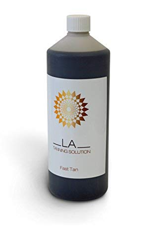 AWARD WINNING LA SPRAY TANNING FAST TAN SOLUTION 1000ml (1 Litre)