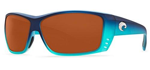 Costa Cat Cay Sunglasses Matte Caribbean Fade Copper