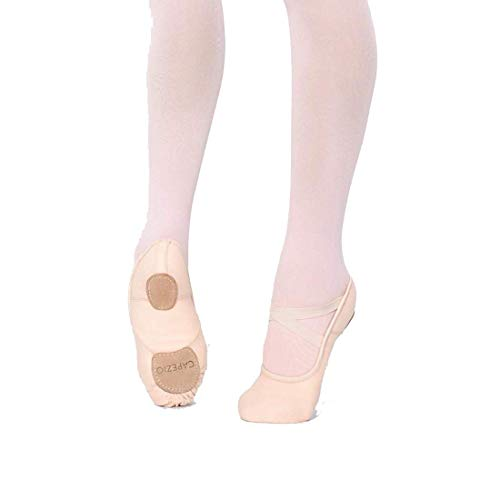 Hanami Stretch Black Sole Split Canvas Capezio Ballet Shoe 2037 5fnqwnCP