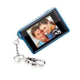 Coby Digital Photo Keychain DP-161 Blue