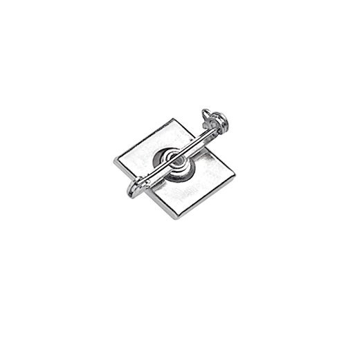(Pressure-Sensitive 1-1/4 in. Nickel-Plated Bar Pin (100/bx))