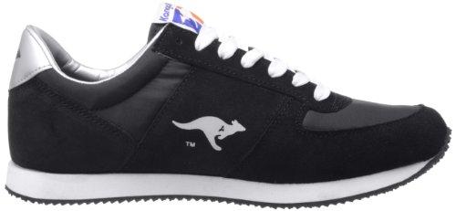 Fällt Zapatillas de aus Normal color Negro hombre 71490 Kangaroos para negro cuero talla wEvgzP5q
