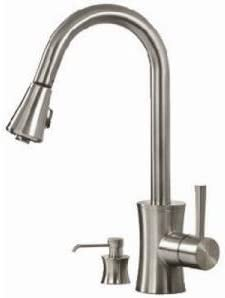 Pegasus Luca Pull-Out Spray Kitchen Faucet
