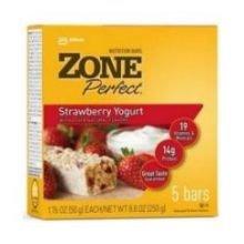 Zone Perfect Classic Strawberry Yogurt Nutrition Bar, 1.76 Ounce - 5 per pack -- 6 packs per case.