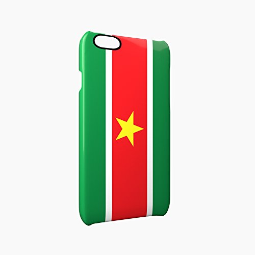 Flag of Suriname Glossy Hard Snap-On Protective iPhone 6 Plus + / 6S Plus + Case Cover
