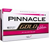 Pinnacle Gold Ribbon Golf Balls- White