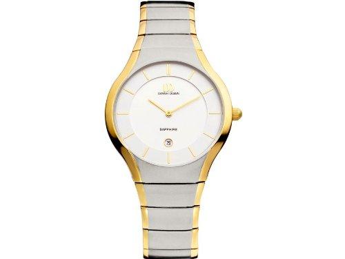 Danish Design IQ65Q943 Titanium Two Tone White Dial Men's Watch