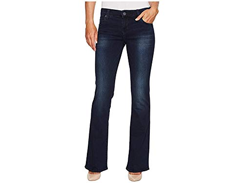 KUT from the Kloth Natalie High-Rise Bootcut in Liberating w/Euro Base Wash Liberating/Euro Base Wash 6