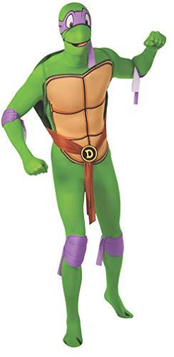 Rubie's Men's Nickelodeon Teenage Mutant Ninja Turtles 2nd Skin, Donatello, Medium -