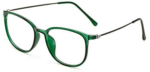 Cadre Lunettes Homme nbsp;– rétro Transparents Mince Lunettes pour Eyewear Femme Jambe Unisexe rétro Hykis Oculos pour de Grau nbsp;Carré Lunettes Verres Green PqFAaF7w