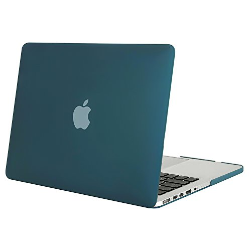 - MOSISO Plastic Hard Shell Case Cover Only Compatible [Previous Generation] MacBook Pro (No USB-C) Retina 15 Inch (Model: A1398) (No CD-ROM), Deep Teal