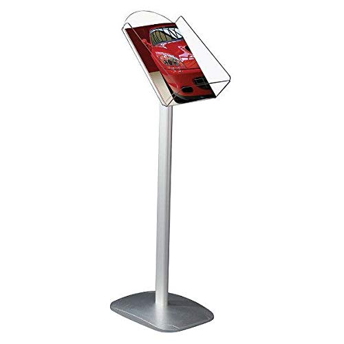 M&T Displays Business Advertising Brochure Stand Plus 8-1/2
