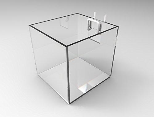 [해외]FixtureDisplays Plaxiglass Acrylic Brochure Holder Cube 100800 Fulfilment by Amazon / FixtureDisplays Plaxiglass Acrylic Brochure Holder Cube 100800 Fulfilment by Amazon