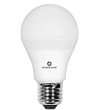 STANDARD 10W E27 220V 360º DIMMABLE LED by Beneito Faure - Blanco muy cálido, E27, 10W, Regulable: Amazon.es: Iluminación