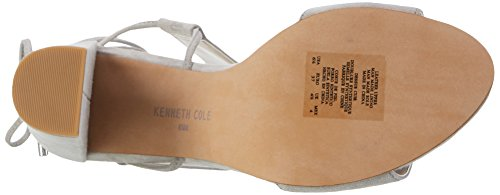 Kenneth Cole Women's Dess Ankle Strap Pumps, Grey (Light Grey 050), 9 UK