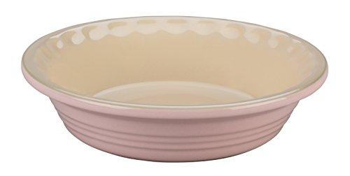 Le Creuset of America Stoneware Pie Pans, 5-Inch, Hibiscus