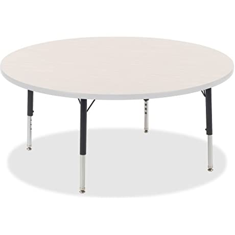 Lorell Activity Tabletop Low Hght Adjustable Legs