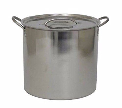Polar Ware Economy Stainless Steel Brewing Pot, 5 (Stainless Steel Pot Gallon)