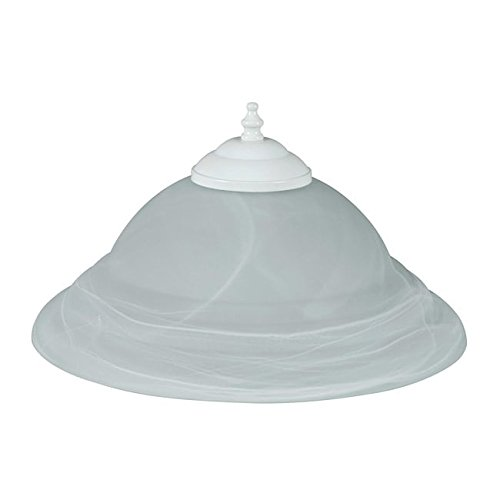 Concord Fans Y-261A-ES-S-04 Lightkit 2-13W GU24 Alabaster Glass Bowl Energy Star Rated Fan Light Kit by Concord Fans