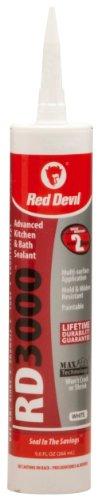 red-devil-0996-rd-3000-advanced-kitchen-bath-sealant-90-ounce-white
