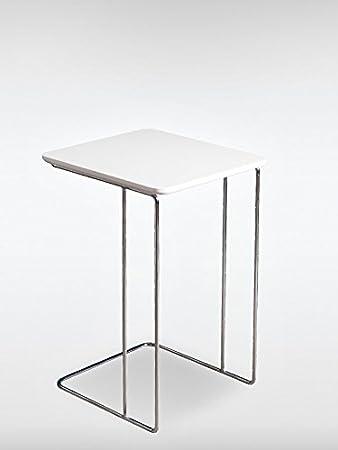 Luxus Design Beistelltisch Couchtisch PANDORA Weiss 43 X 60 Cm Designer Wohnzimmer Tisch