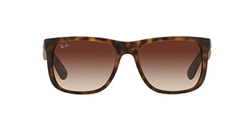 Authentic Ray-Ban Justin RB 4165 710/13 55mm Rubber Light Havana Brown - Justin Havana Ban Ray