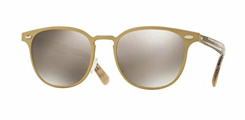 Oliver Peoples - Sheldrake Metal - 1179 54 - Sunglasses (BRUSHED GOLD, Taupe Flash - Sheldrake Eyeglasses Oliver Peoples