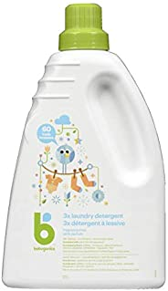 Babyganics Fragrance-Free Baby Laundry Detergent, Made with Simple, Plant-Derived Ingredients for Gentle Care,