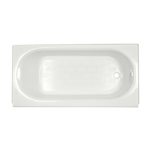 - American Standard 2393.202ICH.020 Princeton 5 ft. Americast Bathtub with Right-Hand Drain in White