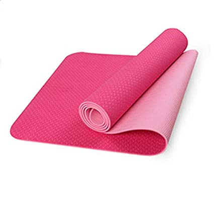 YOOMAT 6MM TPE Extra Thick Non-Slip Yoga Mats Fitness ...