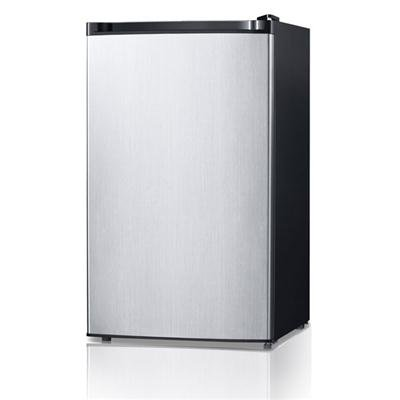 Midea Whs 160Rss1 Compact Single Reversible Door Refrigerator And Freezer  4 4 Cubic Feet  Stainless Steel