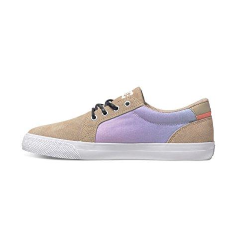 Se Shoes Femme Pink Beige Tan crazy Adjs300076 Dc Council Chaussures Basses qvEqdX0