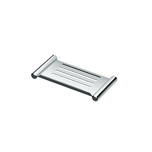 Gatco 1467 Elegant Shower Shelf, Chrome, 10'' by Gatco