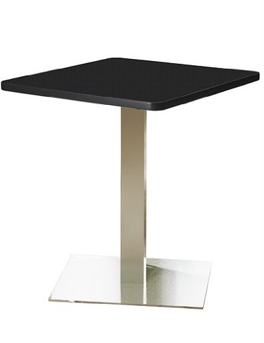 (Mayline Bistro CA30SLS 30 inch Square Lunch Room Table)