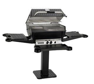 Broilmaster P3X Grill Head, Premium Black Natural Gas (Premium Grill Head)
