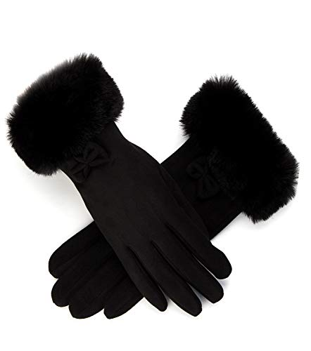 Womens Winter Gloves Touchscreen Texting Warm Lining Cold Weather Gloves