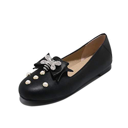 Noir 5 36 Femme Compensées Sandales Noir MMS06273 1TO9 Awx0XFqf0