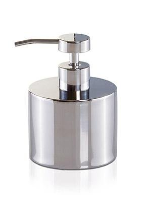 MV Deco Stainless Steel Bathroom Standing Pump Liquid Soap Lotion Dispenser Collection Stainless Steel Freestanding Soap