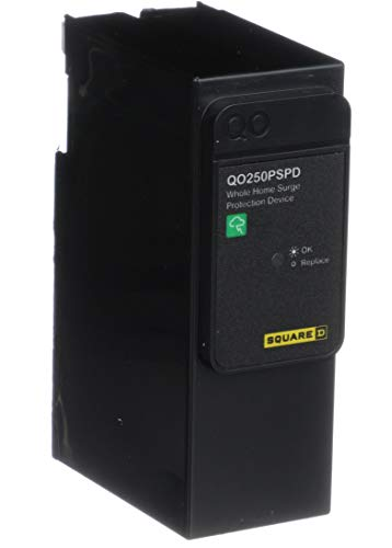 Square D by Schneider Electric QO250PSPD QO Plug-On Neutral Whole House Surge Protective Device