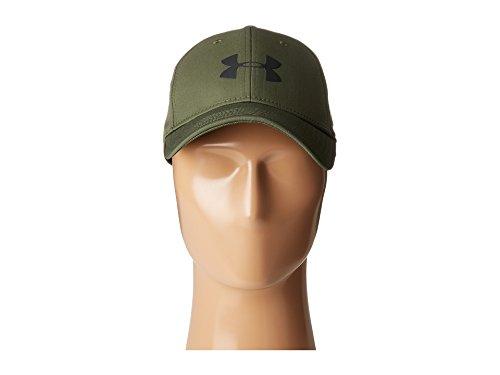 Under Armour Men s UA Storm Headline Cap Downtown Green Blue Marker Black  Hat 05ff092e6dd