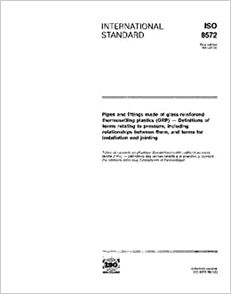 ISO 8572:1991, Pipes and fittings made of glass-reinforced