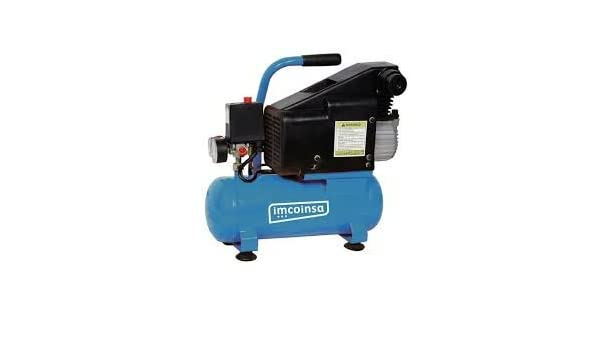 Imcoinsa brico-1.1/2/6-m - Electro compresor brico-1. 1/2/6-m 6l: Amazon.es: Bricolaje y herramientas