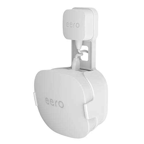 🥇 Wall Mount Holder for eero mesh WiFi System-Simple and Sturdy Wall Mount Holder Stand Bracket for eero mesh WiFi System Router Without Messy Wires or Screws