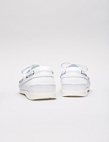 FIND Zapatos Náuticos Hombre Blanco (White)