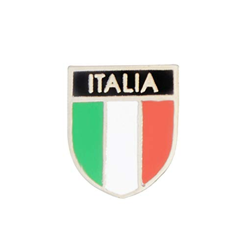 American Italy Canada Flags Enamel Brooch Patriotism Lapel Pins Fashion Jewerly   Types - 2#