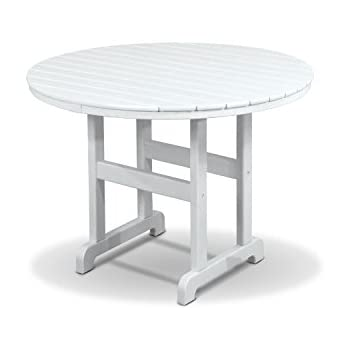white round outdoor dining table patio chairs furniture bay set